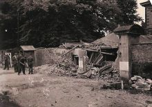 Clockhouse damage caused by an Auxiliary-related explosion 3