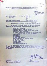 Coleshill Provisions letter 13 August 1940