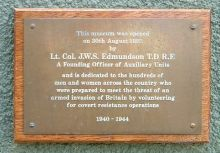 Edmundson plaque